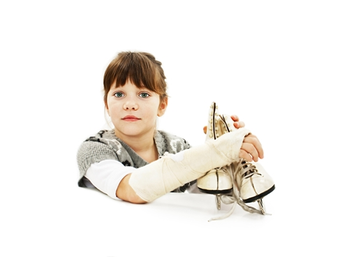 A cast or bandage needs protection so your child can continue having fun.