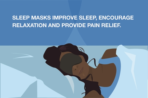 A sleep mask offers a number of benefits.